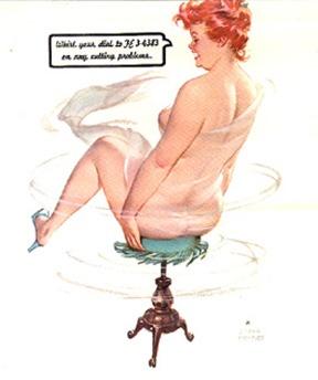 """Cư dân mạng thích thú với bộ tranh vẽ nàng béo """"sexy"""" Hilda 2"""