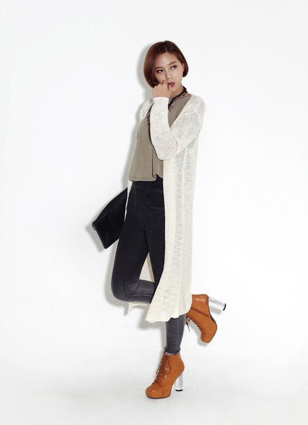 Mặc cardigan dáng dài phong cách, đủ ấm cho ngày se lạnh 4