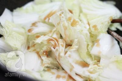 Bò xào cải thảo ngọt giòn ngon cơm 6