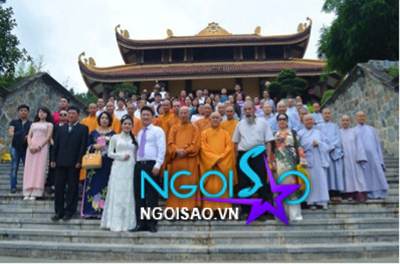 Lễ cưới theo nghi thức Phật giáo của ca sỹ Mỹ Dung 17