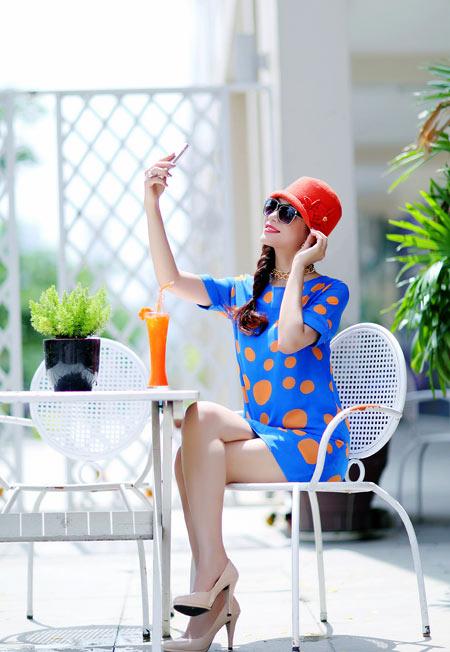Hoa hậu Yến Nhi duyên dáng cùng nón thu 7