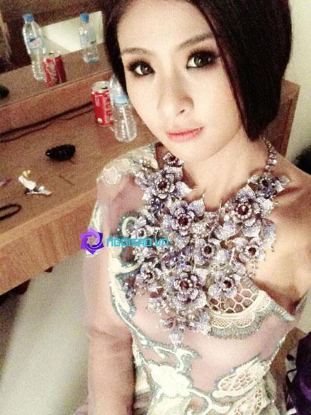 HH Ngọc Hân tung ảnh cô dâu khiến dân mạng xôn xao 6