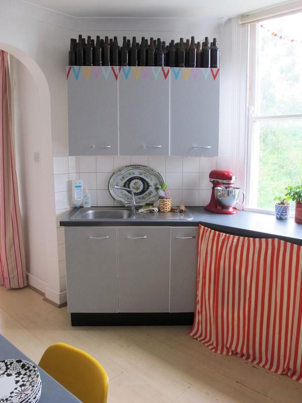 Ngắm căn hộ vintage đẹp như mơ nhờ tận dụng đồ cũ 13