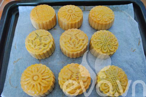 Công thức đơn giản tự làm bánh trung thu thập cẩm 12