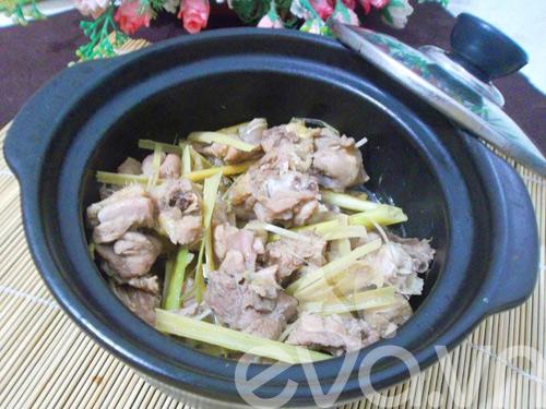 Ngon cơm với ngan kho gừng 7
