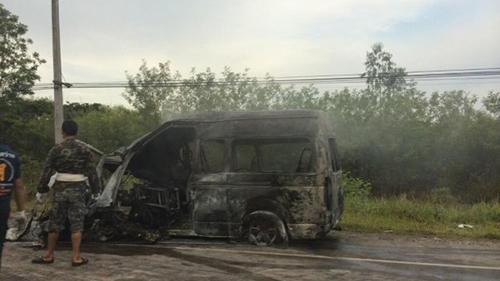 Hành khách Việt sống sót sau vụ tai nạn ở Thái Lan 1