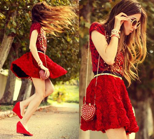 Những mẫu váy xòe đang 'tung hoành' làng thời trang 12