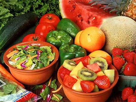 Ngừa khối u ở vú với rau quả 1