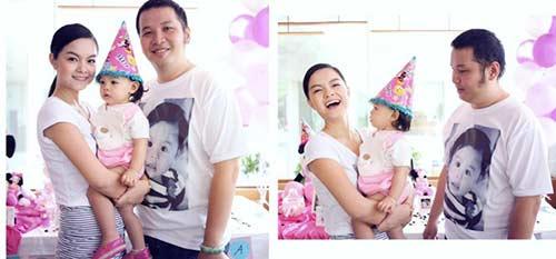 Phạm Quỳnh Anh rạng rỡ mừng sinh nhật con gái 2