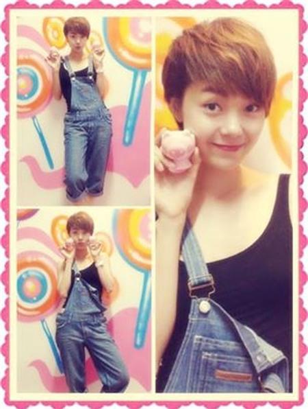 Ngắm phong cách thời trang ngọt ngào của Minh Hằng 10