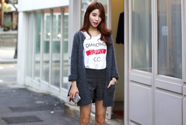 Mặc cardigan dáng dài phong cách, đủ ấm cho ngày se lạnh 9