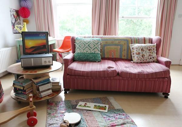 Ngắm căn hộ vintage đẹp như mơ nhờ tận dụng đồ cũ 4