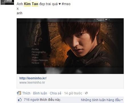 """Khẩu chiến gay cấn vì """"cơn sốt Kim Tan"""" 1"""