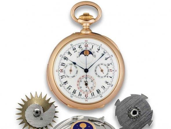 Đồng hồ cổ triệu đô đẹp lung linh 9