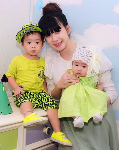 Con trai Lý Hải đòi hôn bạn gái cùng lớp trong sinh nhật 2 tuổi 12
