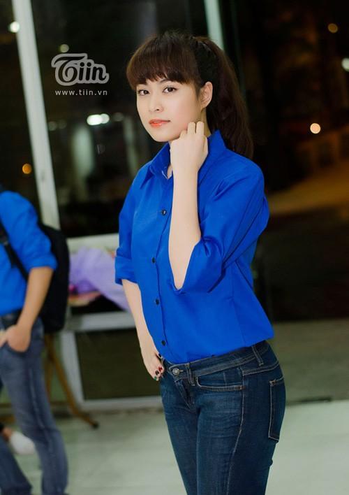 Hoàng Thùy Linh càng giản dị càng đẹp 20