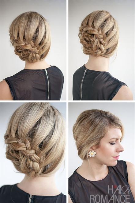 Những kiểu tóc búi đơn giản nhưng đẹp đến lạ kì 5
