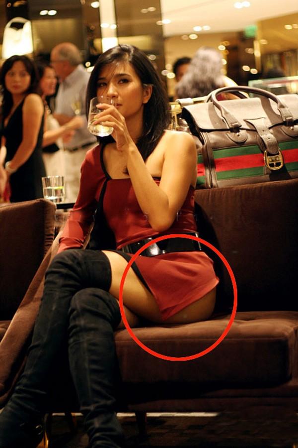 Những tư thế ngồi vô duyên, khó đỡ của mỹ nhân Việt 13