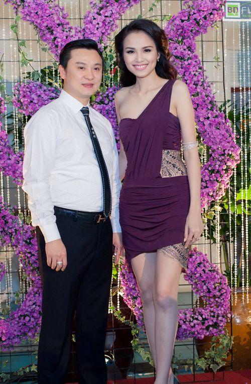 Hoa hậu Diễm Hương tổ chức sinh nhật hoành tráng toàn màu tím 9