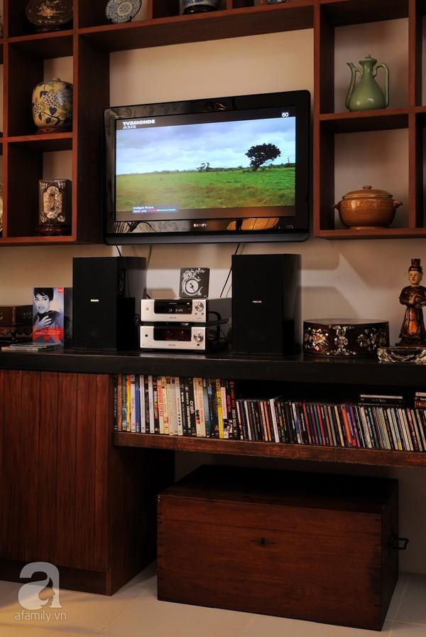 Ngắm căn hộ 22m² sử dụng đồ gỗ tái chế cực chất tại Phú Nhuận 3