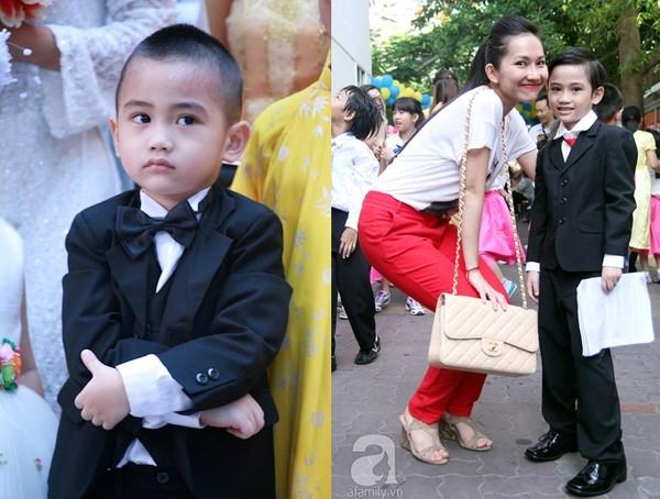Ngắm quá trình lớn lên của các nhóc tì Sao Việt 6