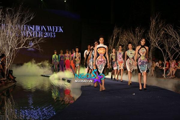 Hoa hậu Thùy Dung, Diễm Hương quyến rũ trong trang phục màu sắc 18