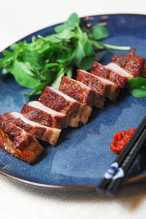 Thịt ba chỉ nướng kiểu Hàn ngon mê 5