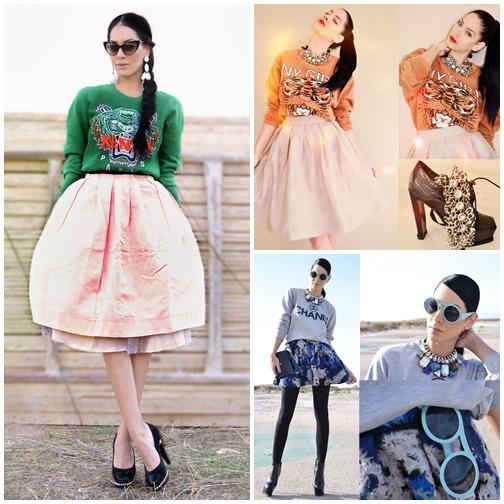 Những mẫu váy xòe đang 'tung hoành' làng thời trang 18