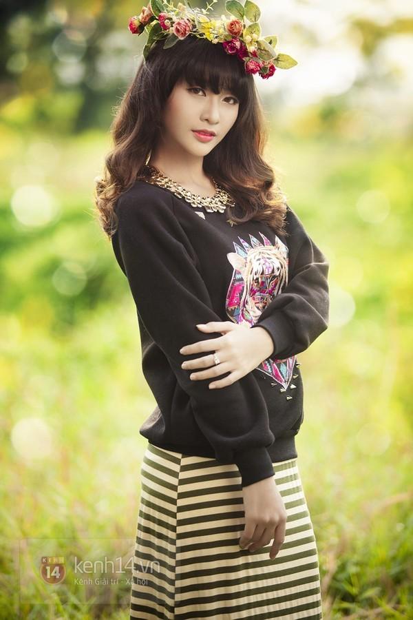 Những hot girl Việt có gương mặt đẹp không tì vết 3