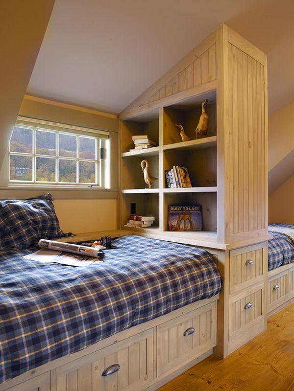 Cách bố trí giường riêng cho hai con trong cùng một phòng 5