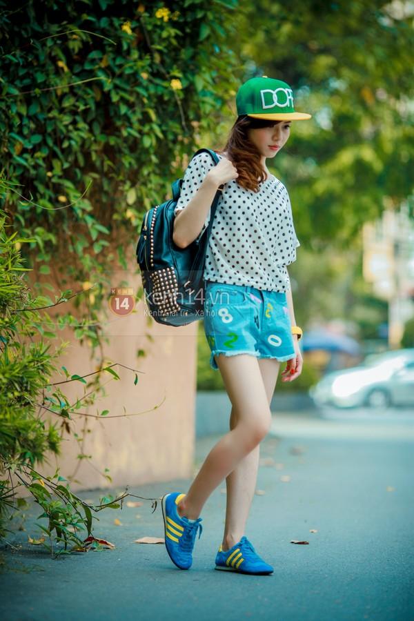 Mùa hè năng động với đủ kiểu quần shorts 8