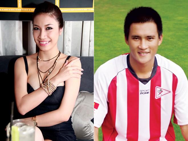 Những bóng hồng showbiz của cầu thủ Việt ngày ấy – bây giờ 4