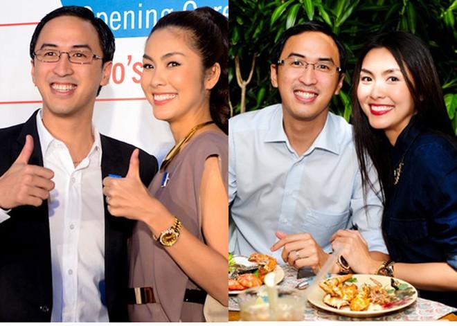 Những mỹ nhân Việt lấy chồng vừa giàu vừa điển trai 5