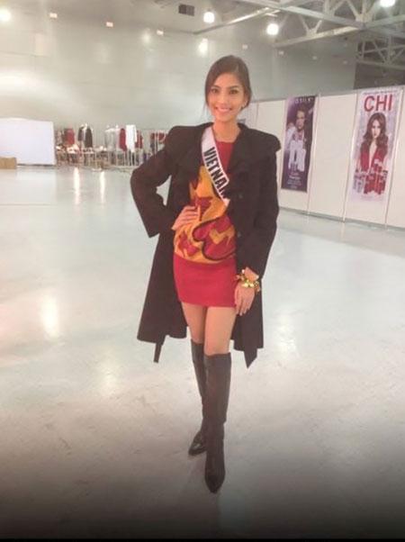 Trương Thị May bị cảm lạnh và sốt cao tại Miss Universe 3