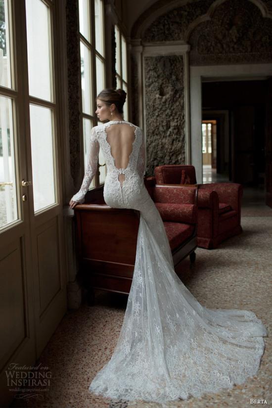 Những mẫu váy cưới dài tay đẹp đến khó tin 16