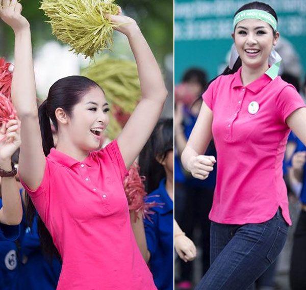 """5 """"nữ hoàng áo phông"""" của showbiz Việt 20"""