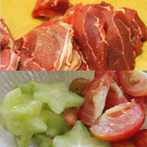 Chua ngọt hấp dẫn canh thịt bò nấu khế xanh 1
