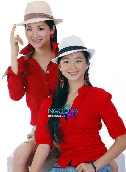 """Những cặp mẹ - con sao Việt trẻ trung như... """"hai chị em"""" 1"""