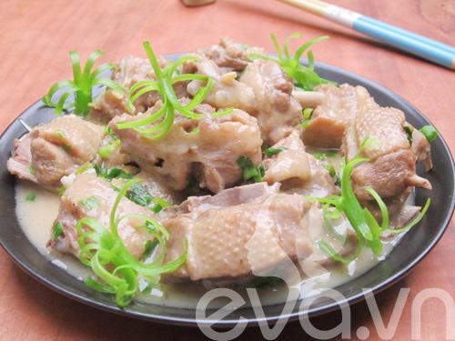 Cơm chiều với vịt om nước cốt dừa 10