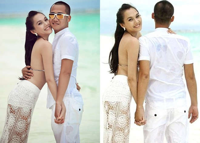 Những mỹ nhân Việt lấy chồng vừa giàu vừa điển trai 1