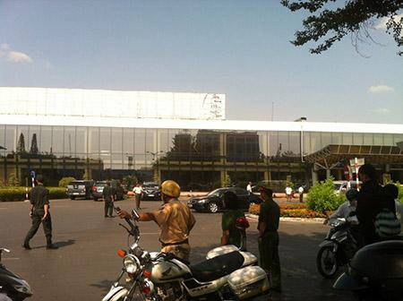 Tăng cường an ninh tại sân bay Tân Sơn Nhất 3