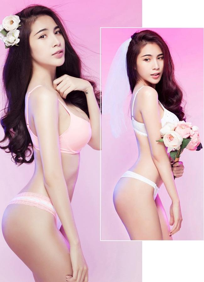 15 mỹ nhân Việt mặc nội y cưới đẹp nhất! 15