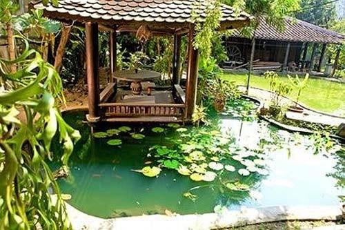 Nhà vườn, resort triệu đô của gia đình Á hậu Thiên Lý 14