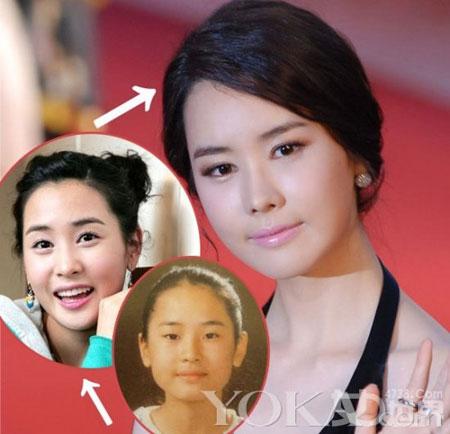 Khuôn mặt mỹ nhân Hàn biến đổi so với thời thiếu nữ 2