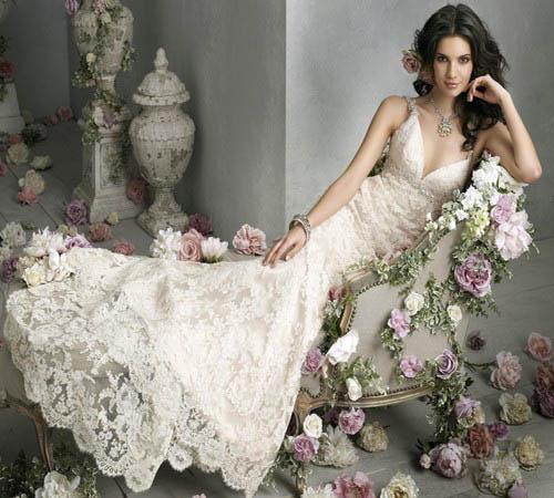 """10 váy cưới vintage """"trong mơ"""" cho cô dâu mùa thu 4"""