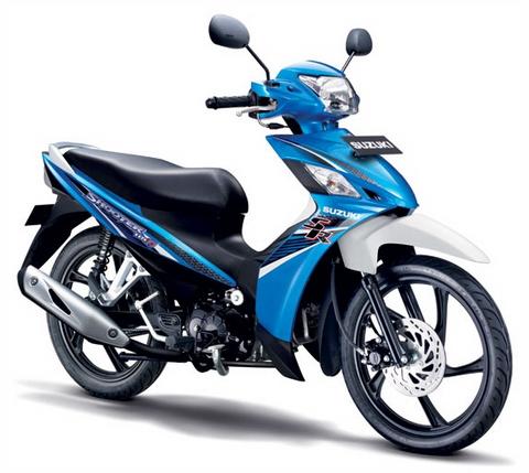 Suzuki trình làng xe số mới giá dưới 25 triệu 1