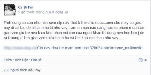Sao Việt phẫn nộ vụ bảo mẫu bạo hành trẻ 10