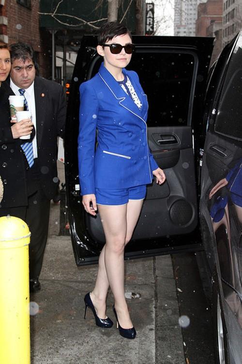 10 cách diện đẹp với blazer xanh 9