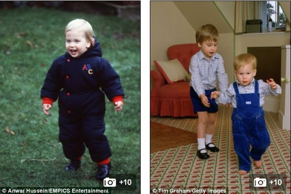 Lộ ảnh Hoàng tử bé nước Anh biết đi 3