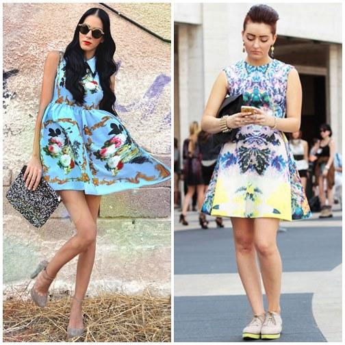 Những mẫu váy xòe đang 'tung hoành' làng thời trang 3